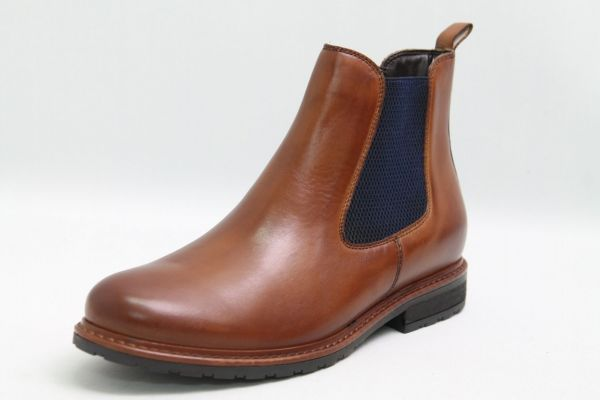 Tamaris Stiefeletten braun echt Leder colored finished Vario komfort Damen