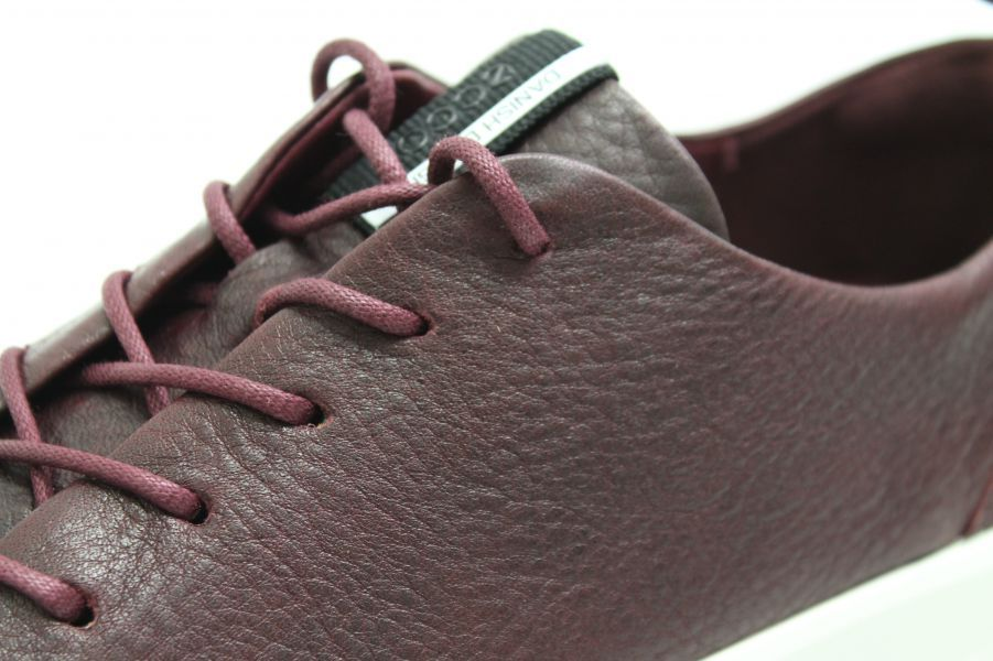 presenting best service entire collection Leder Rot Wechselfußbett Schuhe Bordeaux Ecco w8nvNm0